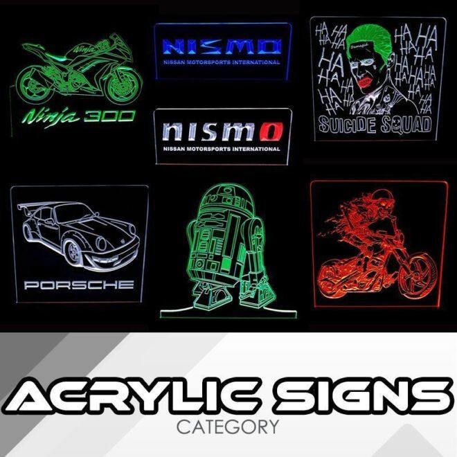 LED Acrylic Signs